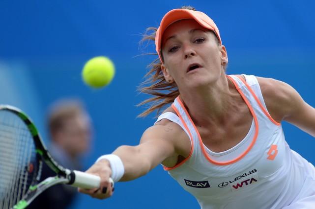Agnieszka Radwanska... (Photo Carl Court, AFP)