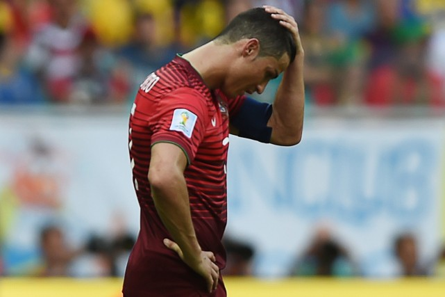 Le capitaine du Portugal Cristiano Ronaldo a vécu... (Photo Francisco Leong, AFP)
