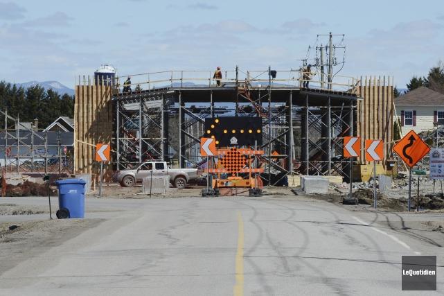Le MTQ poursuivra plusieurs projets de développement routier... (PHOTO ARCHIVES LE QUOTIDIEN)