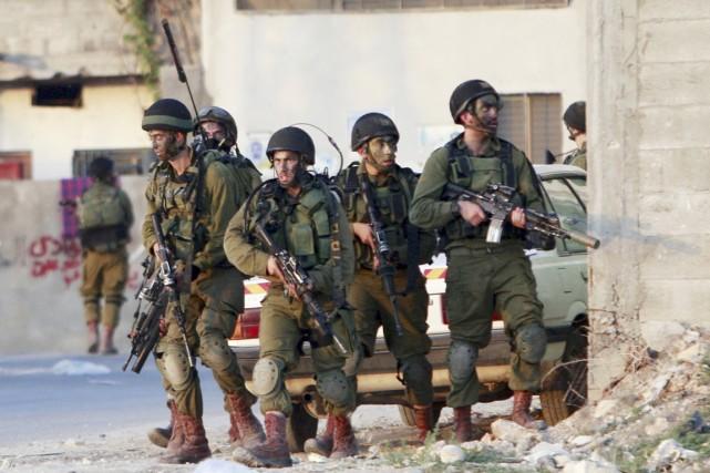 L'offensive de Tsahal, qui s'est initialement concentrée sur... (PHOTO MOHAMMED BALLAS, AP)