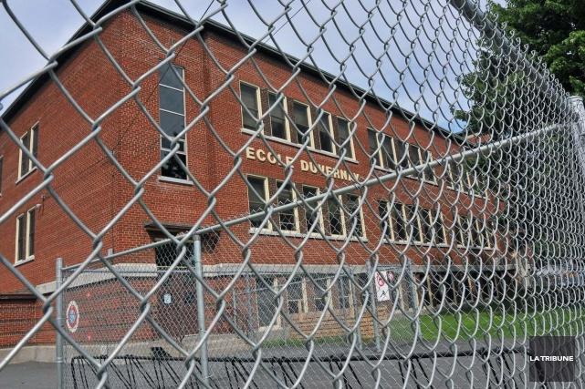 L'école primaire Duvernay de Drummondville.... (La Tribune, Yanick Poisson)