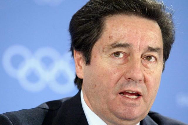 Le président de l'Union internationale de patinage (ISU),... (Photo archives AFP)