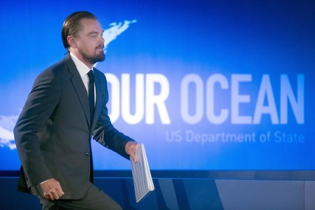 Leonardo DiCaprio a promis via sa fondation 7... (PHOTO CLIFF OWEN, AP)
