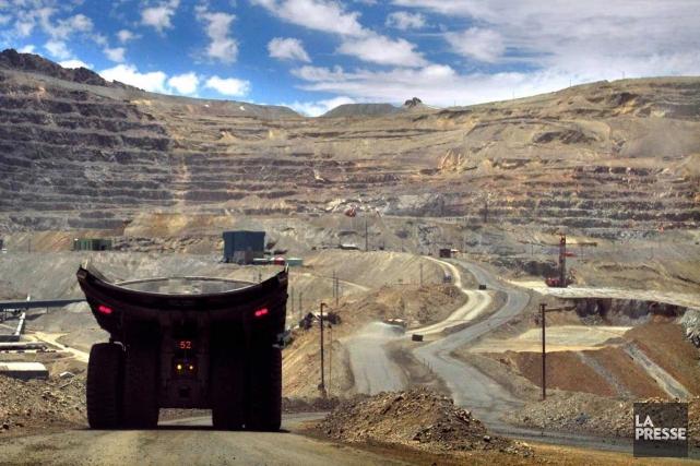 Une mine de cuivre... (Photo AFP)