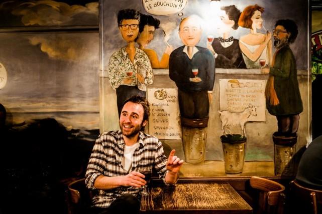 Le Coude Fou, un restaurant tenu par un... (Photo Lionel Charrier, collaboration spéciale)