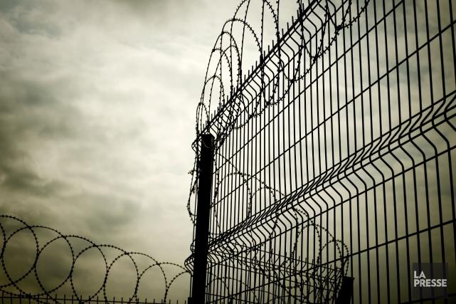 Le toit d'une prison privée de l'est du Texas s'est effondré samedi, coinçant... (PHOTO ARCHIVES LA PRESSE)