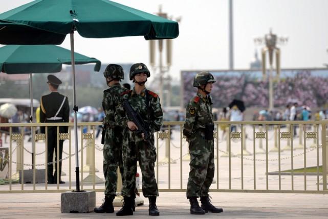 Une explosion dans un entrepôt de munitions a tué 17 soldats de l'armée... (Archives AFP)