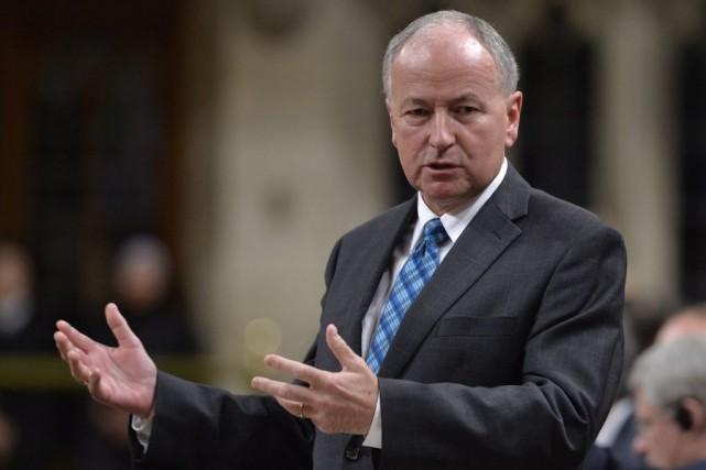 Rob Nicholson... (Photo Adrian Wyld, La Presse Canadienne)