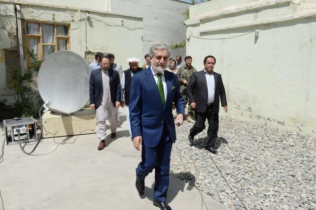 Abdullah Abdullah (ci-dessus), qui s'était retiré lors de... (PHOTO SHAH MARAI, AFP)