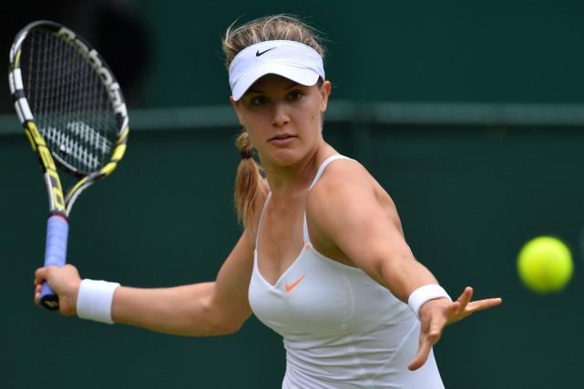 Eugenie Bouchard est la seule joueuse à avoir... (Photo Carl Court, archives AFP)