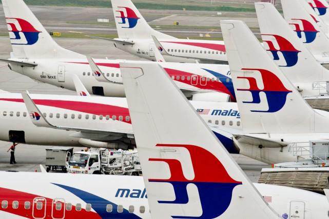 L'avion de Malaysia Airlines se serait abîmé dans... (Archives AFP)