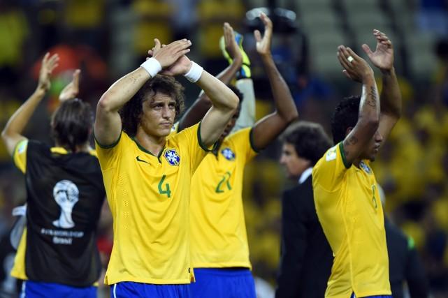 Le Brésil a dû se contenter d'un verdict... (Photo Odd Andersen, AFP)