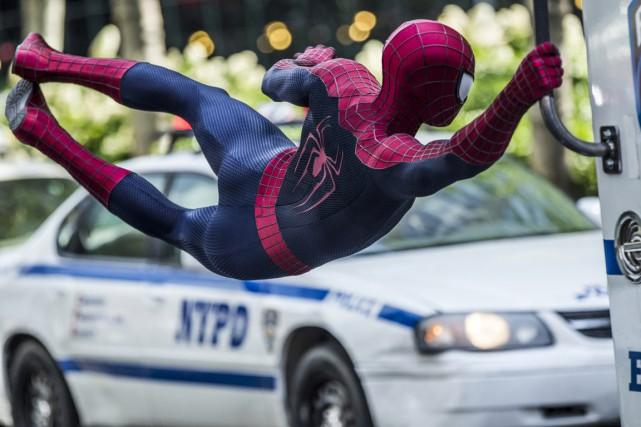 Un homme costumé en Spider-Man a été reconnu coupable de harcèlement en lien... (Photo fournie par Columbia / Sony)