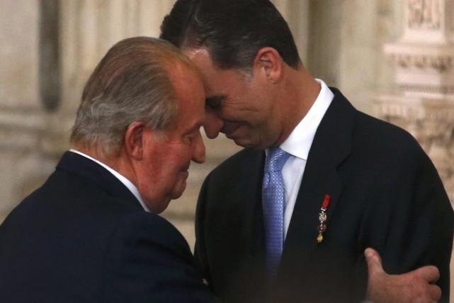 L'ancien roi d'Espagne Juan Carlos a passé le... (PHOTO JUAN MEDINA, archives REUTERS)