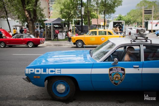 Taxis jaunes, voitures américaines rutilantes, autobus vintages, le... (PHOTO EDOUARD PLANTE-FRECHETTE, LA PRESSE)
