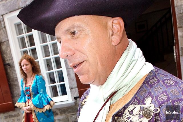 Le directeur général des Fêtes de la Nouvelle-France,... (Photothèque Le Soleil, Jean-Marie villeneuve)