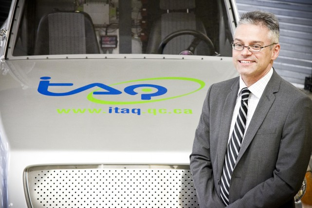 François Adam , directeur de lInstitut de transport... (PHOTO ITAQ)