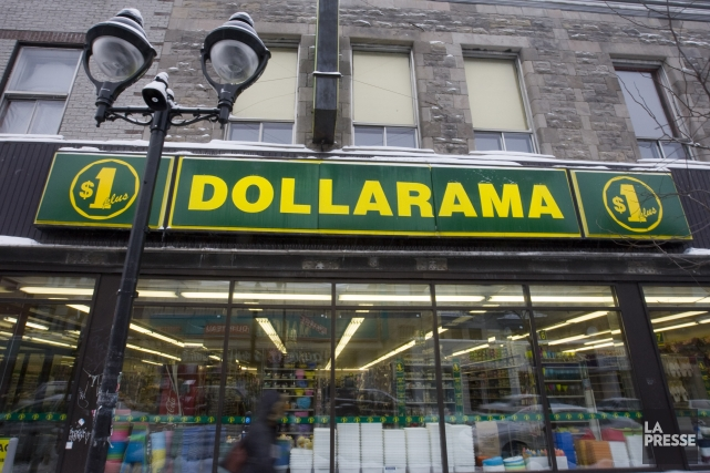 Dollarama est le plus important exploitant de magasins... (PHOTO FRANÇOIS ROY, ARCHIVES LA PRESSE)