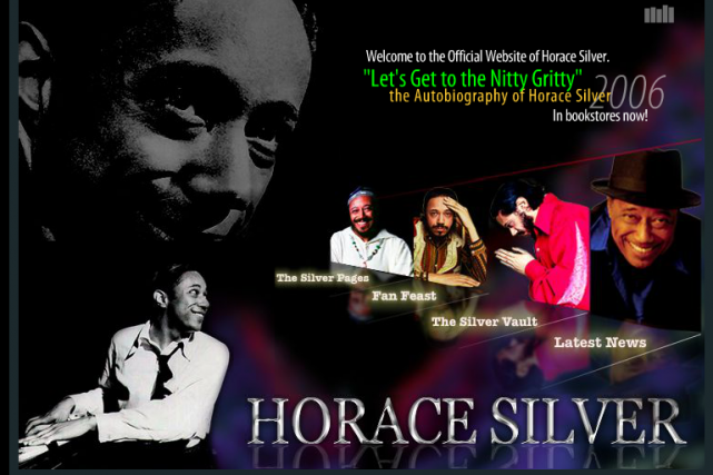 Le pianiste et compositeur Horace Silver, figure influente du courant hard bop,... (Photo tirée du site internet horacesilver.com)