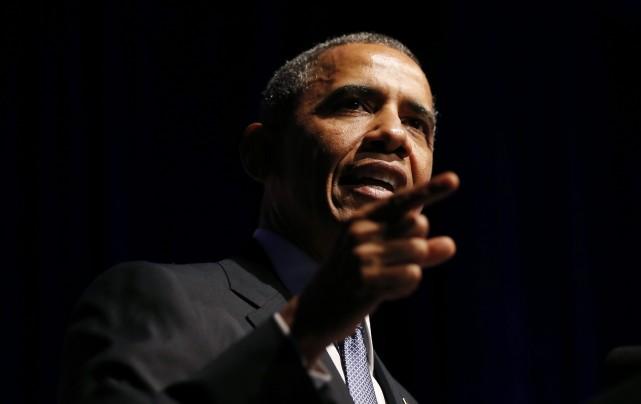 Le président américain Barack Obama a souhaité vendredi que le projet de... (Photo KEVIN LAMARQUE, archives Reuters)