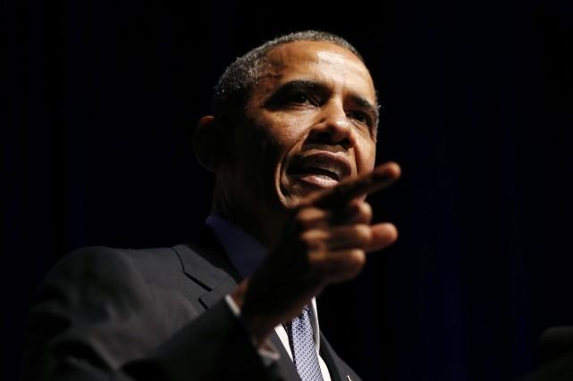 Washington envisage d'envoyer 100 membres des forces spéciales à Bagdad pour... (Photo KEVIN LAMARQUE, Reuters)