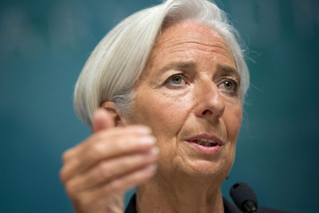 La patronne du FMI, Christine Lagarde... (Photo Pablo Martinez Monsivais, AP)