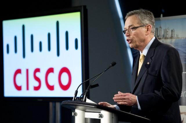 Cisco Canada en a fait l'annonce,conjointement avec le... (Photo Nathan Denette, PC)