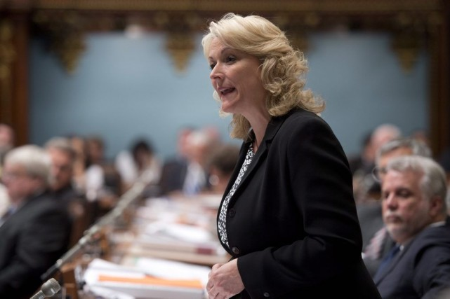 Lise Thériault... (Photo Jacques Boissinot, La Presse Canadienne)
