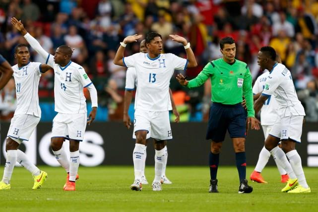 Le Honduras n'a pas marqué à ses cinq... (Photo Edgard Garrido, Reuters)