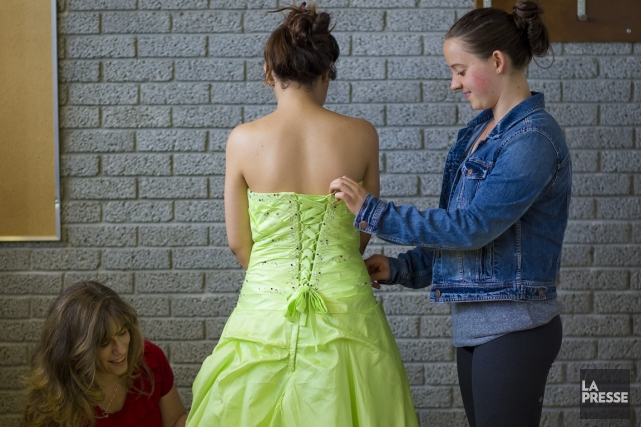 Cette année, la garde-robe de princesse de Linda... (Photo André Pichette, La Presse)