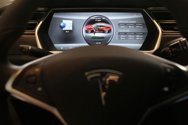 Tesla Motors renonce à ses brevets en partie... (Photo Robert Galbraith, Reuters)