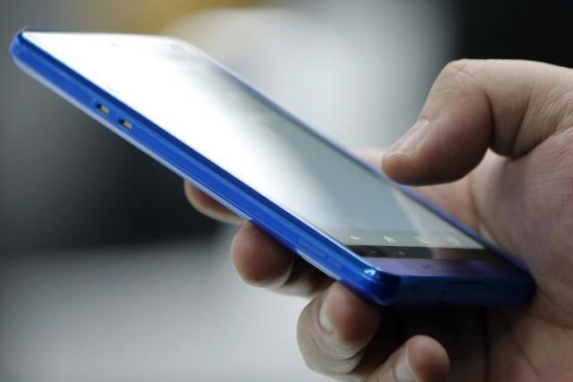Quelque 3,1 millions de téléphones portables ont été... (Photo Kiyoshi Ota, Archives Bloomberg)