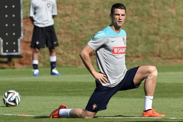 Cristiano Ronaldo... (Photo Philippe Desmazes, AFP)