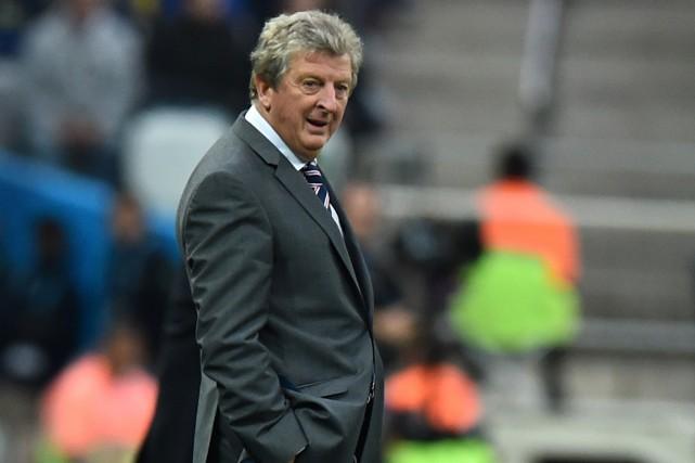 Le sélectionneur de l'Angleterre, Roy Hodgson.... (Photo Ben Stansall, AFP)