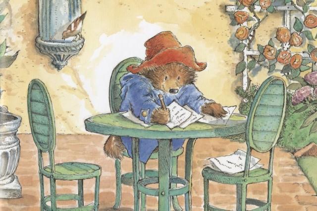Paddington a d'abord été un griffonnagepublié en août... (Illustration de R.W.Alley, fournie par les Éditions Michel Lafon)