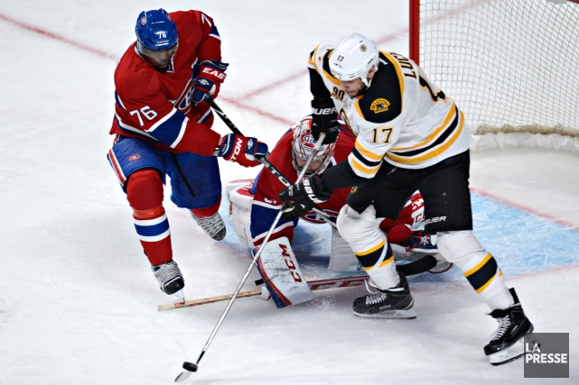 Le Canadien affrontera les Bruins de Boston à... (Photo Bernard Brault, archives La Presse)
