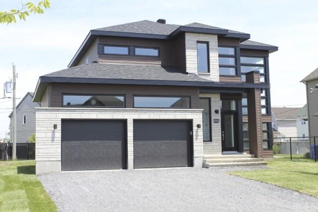La première maison du Québec officiellement homologuée Novoclimat 2.0 a été... (Photo fournie par les entreprises Réjean Goyette)
