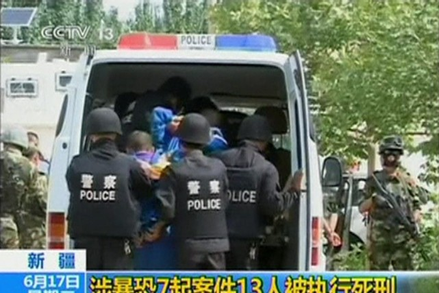 Lundi, l'agence Chine nouvelle avait annoncé l'exécution de... (Photo Reuters)