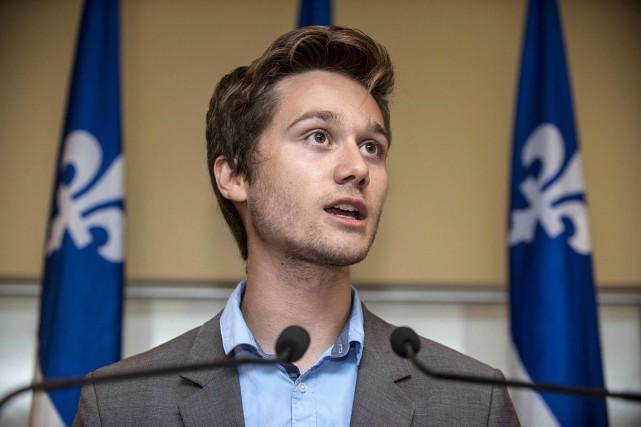 Léo Bureau-Blouin veut que le Parti québécois redevienne... (PHOTO ROGERIO BARBOSA, ARCHIVES LA PRESSE CANADIENNE)
