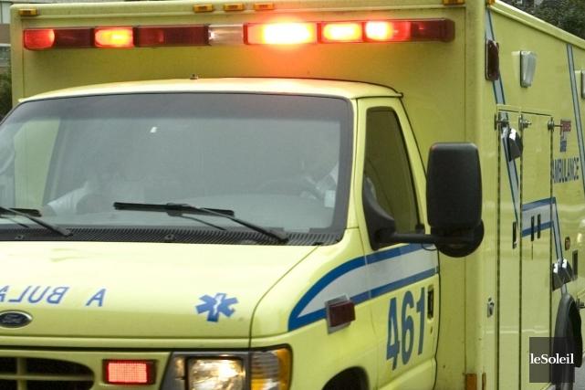 Une jeune femme de 16 ans a été grièvement blessée dans un accident de la route... (Photothèque Le Soleil)