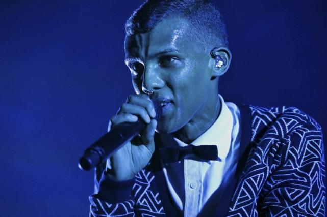 Stromae a enchaîné cette année 90 concerts en... (PHOTO STAN HONDA, AFP)