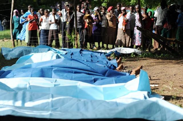 Les Kényans sont partagés entre la peur et... (PHOTO SIMON MAINA, AFP)