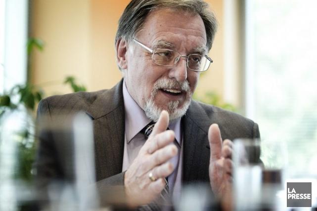 Pierre Desroches, ancien PDG de Laval Technopole, a... (PHOTO MARCO CAMPANOZZI, Archives LA PRESSE)