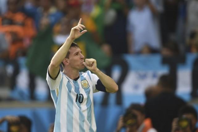 Lionel Messi... (Photo: archives AFP)