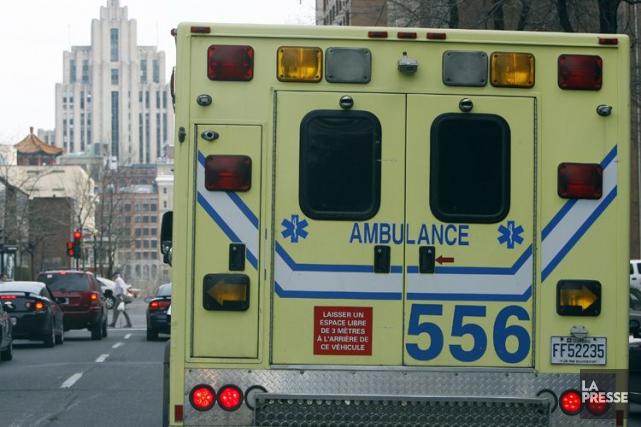 En plus d'Urgences-santé à Montréal et Laval, six... (Photo Archives La Presse)