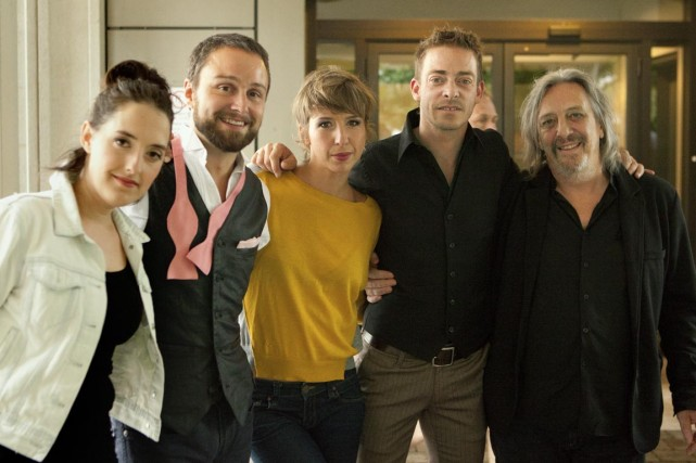 Marie-Pierre Arthur, Antoine Gratton, Catherine Major, Alexandre Désilets... (Photo Jean-Charles Labarre, fournie par le management de Serge Fiori)