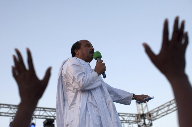 Mohamed Ould Abdel Aziz... (Photo JOE PENNEY, Reuters)