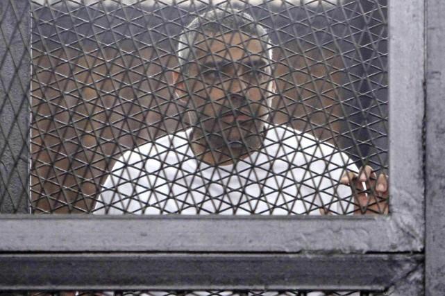 Le journaliste canado-égyptien Mohamed Fadel Fahmy était accusé... (PHOTO ARCHIVES REUTEURS/AL YOUM AL SAABI)