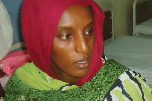 Le cas de Meriam Yahia Ibrahim Ishag condamnée à... (PHOTO ARCHIVES AFP/STR)
