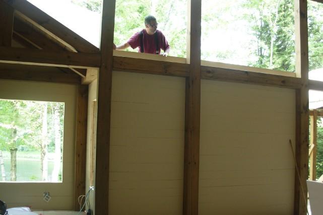 Les murs-bois se présentent comme des panneaux de... (Photo fournie par Linéaire Design)